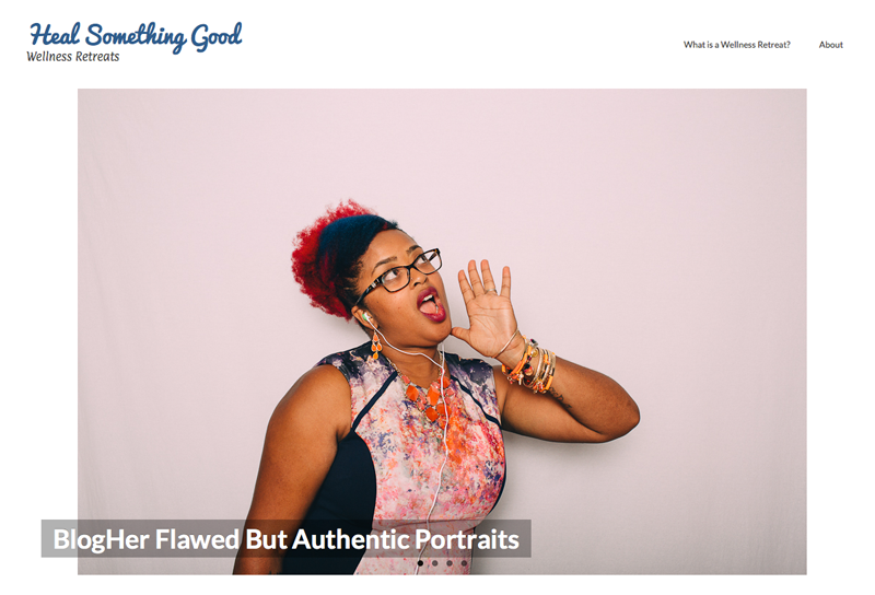 Blogher Flawed but Authentic Photos